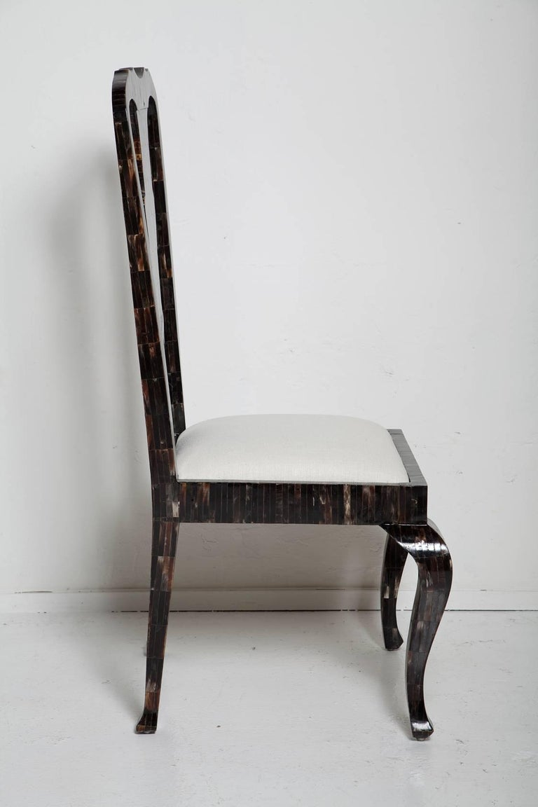 Hand-Crafted 1980s Horn Chair by Enrique Garces For Sale