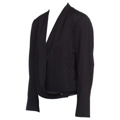 1980's Issey Miyake Cropped Wrap Blazer Jacket