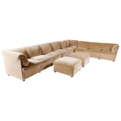 1980s Italian Modular Sofa by Cassina