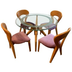 1980s Italian Sculptural Dining Suite