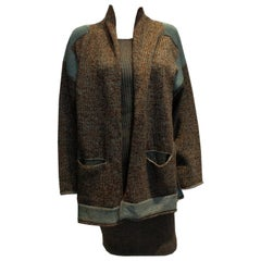 1980s Jean Paul Gaultier for Equator Knitted Dress and Jacket