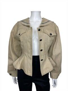 SS89 Junior Gaultier Sailor Jacket Lacing Medium Size