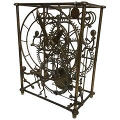 1980s Kinetico Six Man Clock by Gordon Bradt