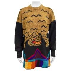 1980s Krizia Tiger Sweater