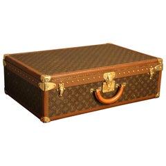 1980s Louis Vuitton Suitcase, Alzer 70 Louis Vuitton Suitcase