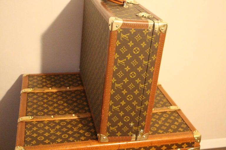 1980s Louis Vuitton Suitcase in Monogram Canvas For Sale 4