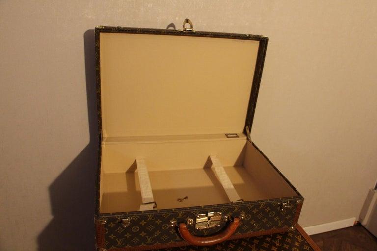 1980s Louis Vuitton Suitcase in Monogram Canvas For Sale 6