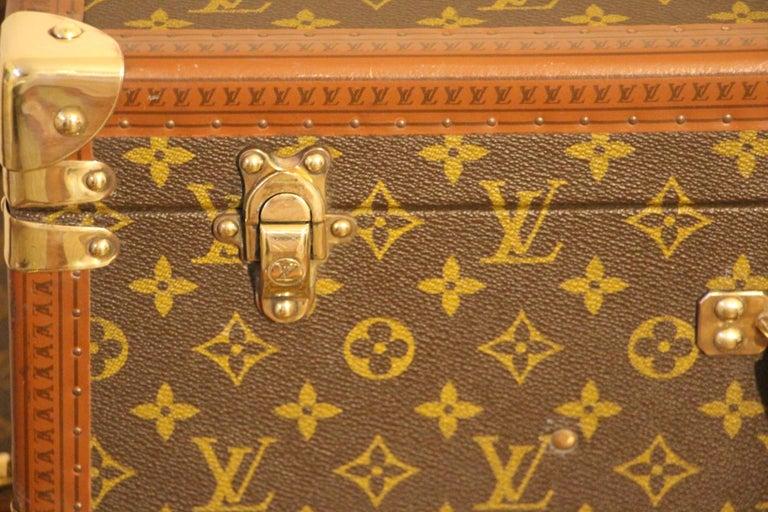 1980s Louis Vuitton Suitcase in Monogram Canvas In Excellent Condition For Sale In Saint-Ouen, FR