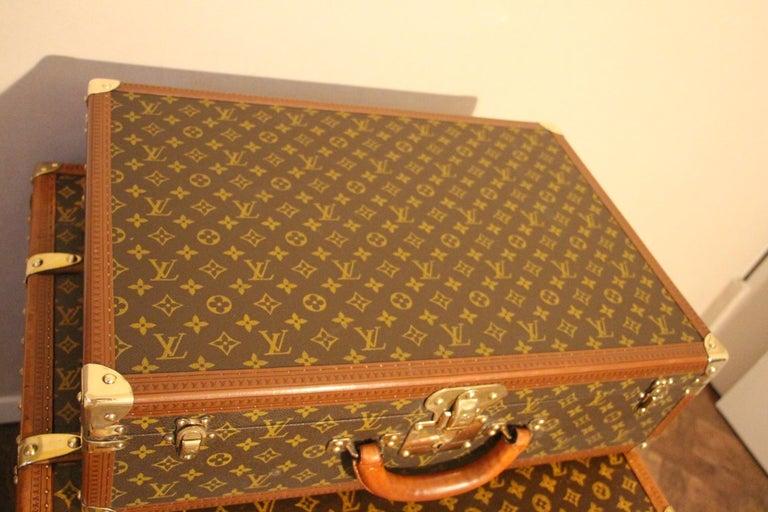 1980s Louis Vuitton Suitcase in Monogram Canvas For Sale 1