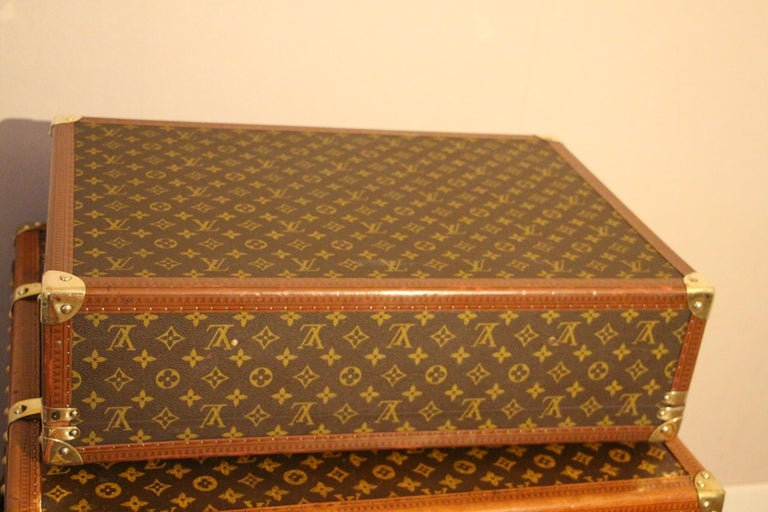 1980s Louis Vuitton Suitcase in Monogram Canvas For Sale 2