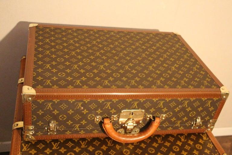 1980s Louis Vuitton Suitcase in Monogram Canvas For Sale 3