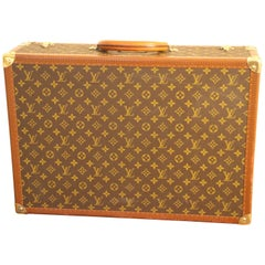 1980s Louis Vuitton Suitcase in Monogram Canvas