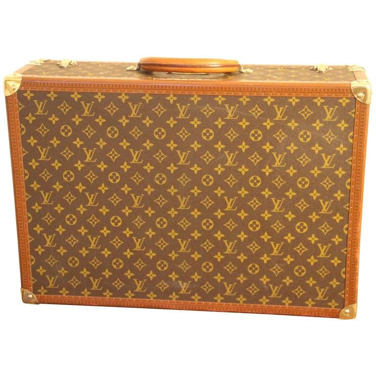 1980s Louis Vuitton Suitcase in Monogram Canvas For Sale