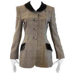 """1980s Moschino Cheap and Chic """"Riding"""" Jacket 40Itl"""