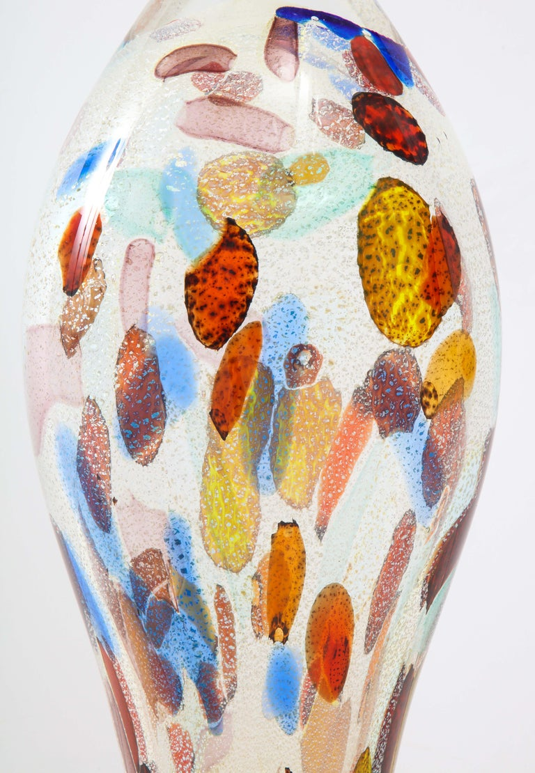 1980s Murano Glass Large Modernist Sculpture In Good Condition For Sale In New York City, NY