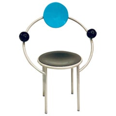 1980s My First Chair by Michele De Lucchi for Memphis Postmodern
