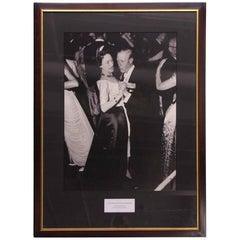 1980s NYC Waldorf Astoria Hotel Duke & Duchess of Windsor Photograph