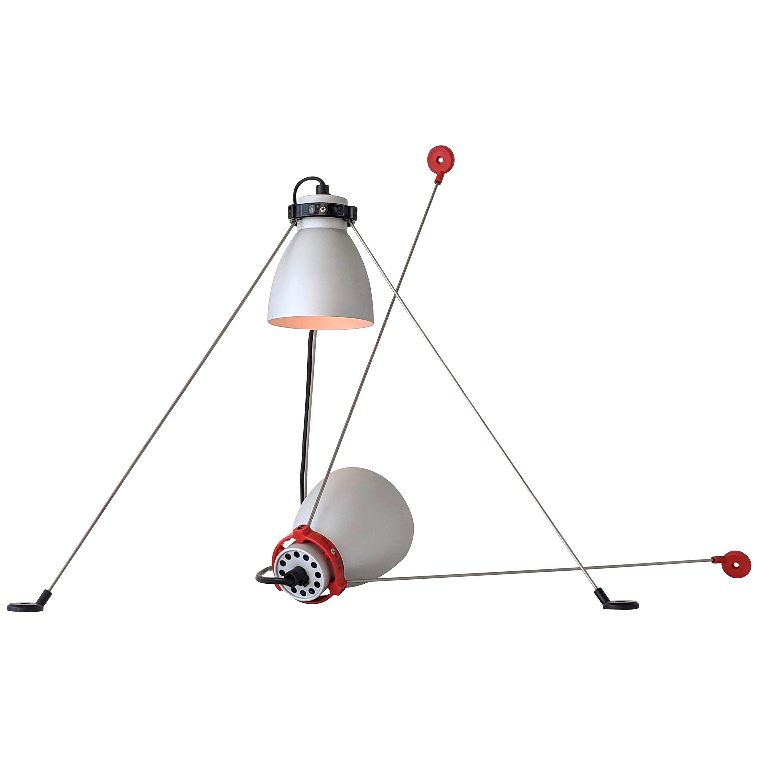 1980s Pair of ''Grifo'' Table or Wall Lamp by Artemide, Italy