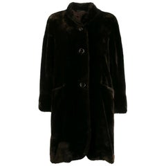 1980s Pierre Carding Teddy Coat