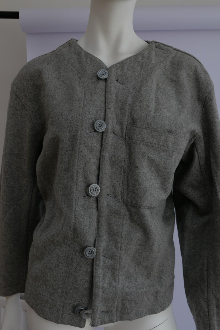 1980's Plantation Issey Miyake Jacket  In Good Condition For Sale In London, GB