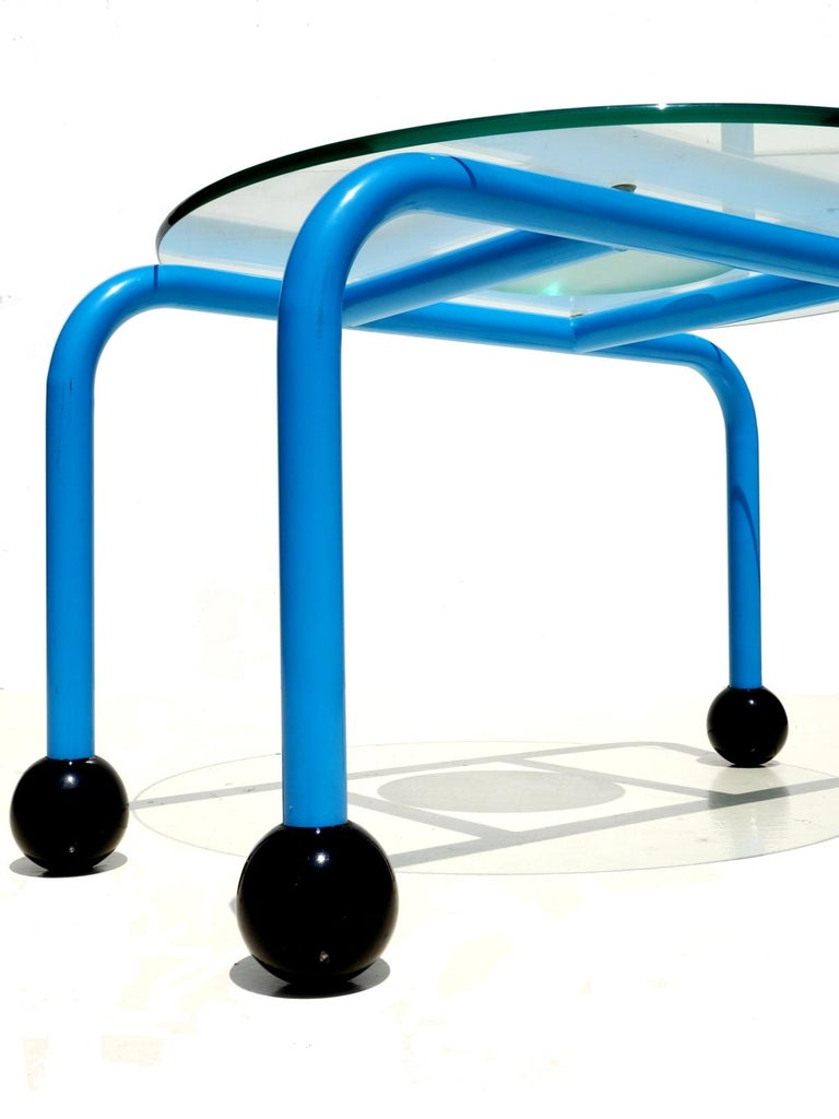 Post-Modern 1980s Postmodern Coffee Table Memphis Style For Sale