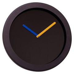 1980s Postmodern Empire Art Products Wall Clock