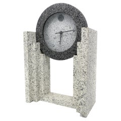 1980s Postmodern Mantle Clock by Empire Arts