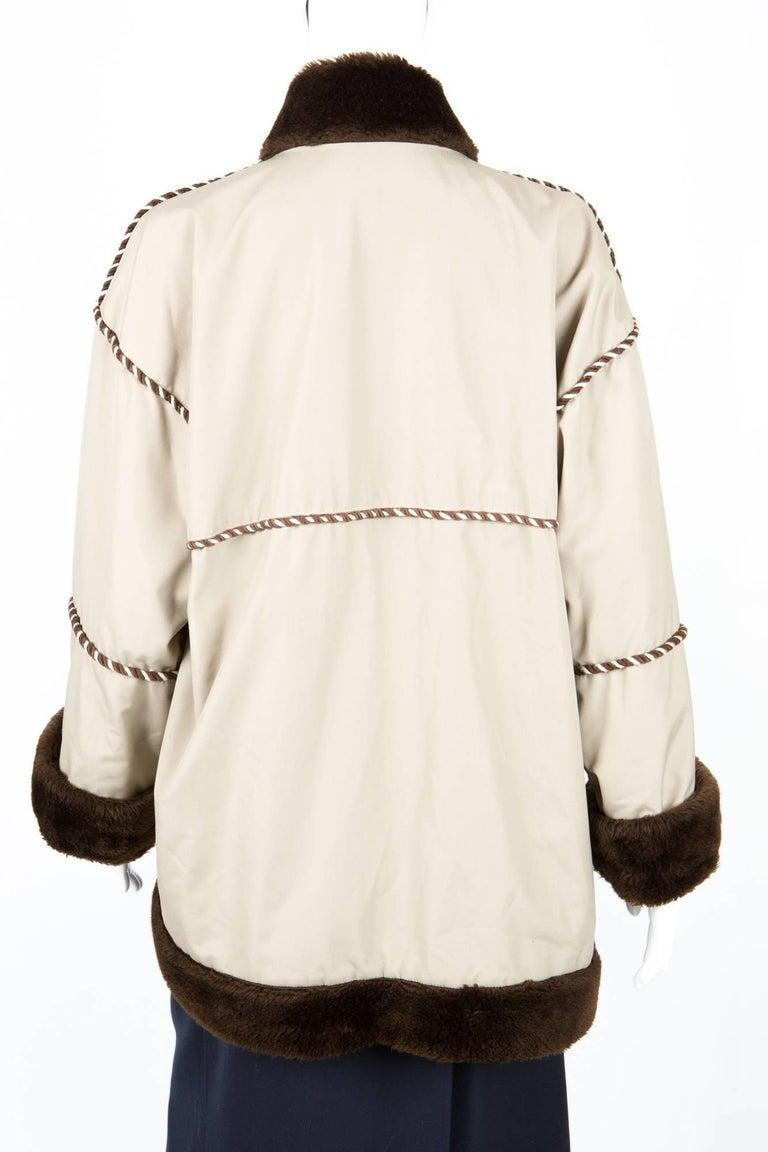 Women's 1980s Rare Yves Saint Laurent Camel Pelisse Coat For Sale