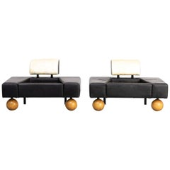 1980s Rob Eckhardt 'Pouffe Garni' Fauteuils for Pastoe Set of 2