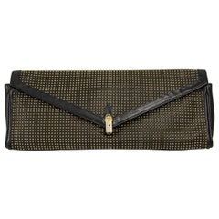 1980s Roberta di Camerino Studded Leather Clutch