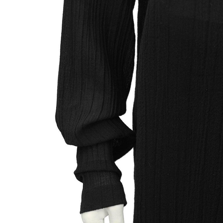 Women's 1980s Romeo Gigli Black Shirt and Skirt Ensemble  For Sale