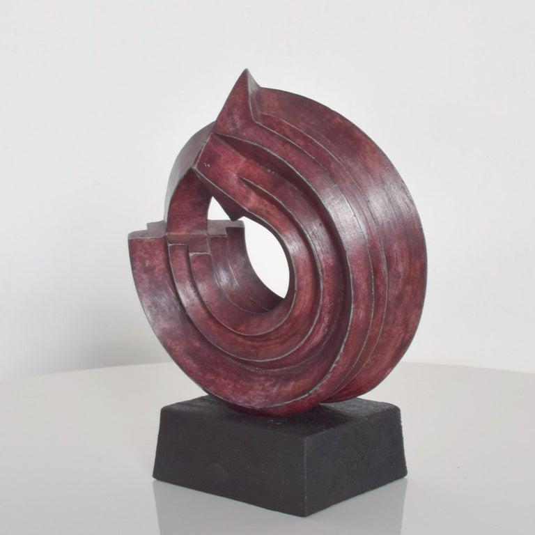 Contemporary  SEBASTIAN Modern Bronze Sculpture by Enrique Carbajal Gonzalez Mexico 2003 For Sale