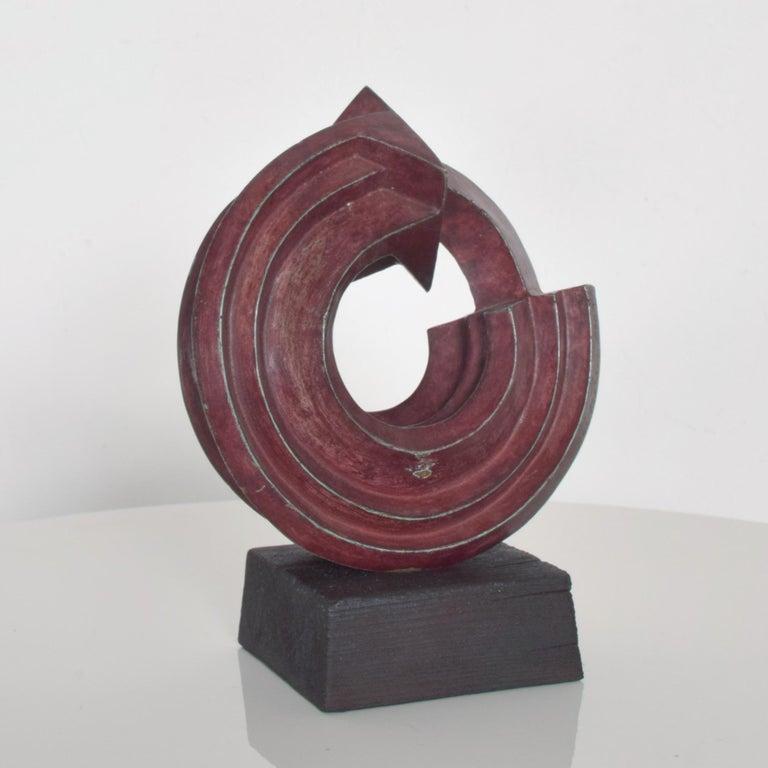 SEBASTIAN Modern Bronze Sculpture by Enrique Carbajal Gonzalez Mexico 2003 For Sale 2