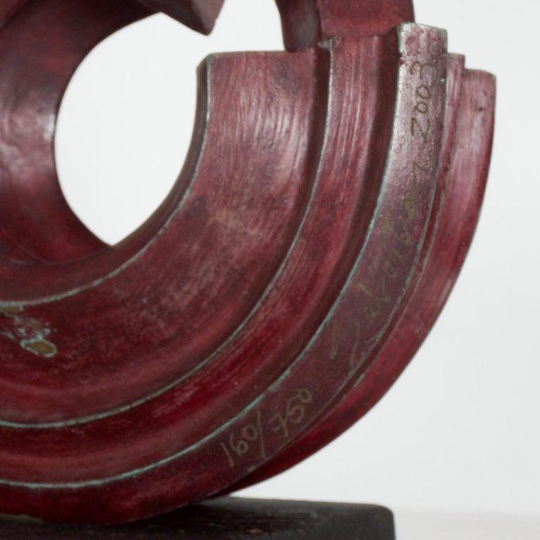 SEBASTIAN Modern Bronze Sculpture by Enrique Carbajal Gonzalez Mexico 2003 For Sale 3