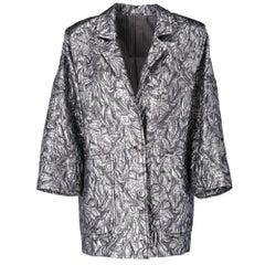 1980s Sportmax Silver Jacket