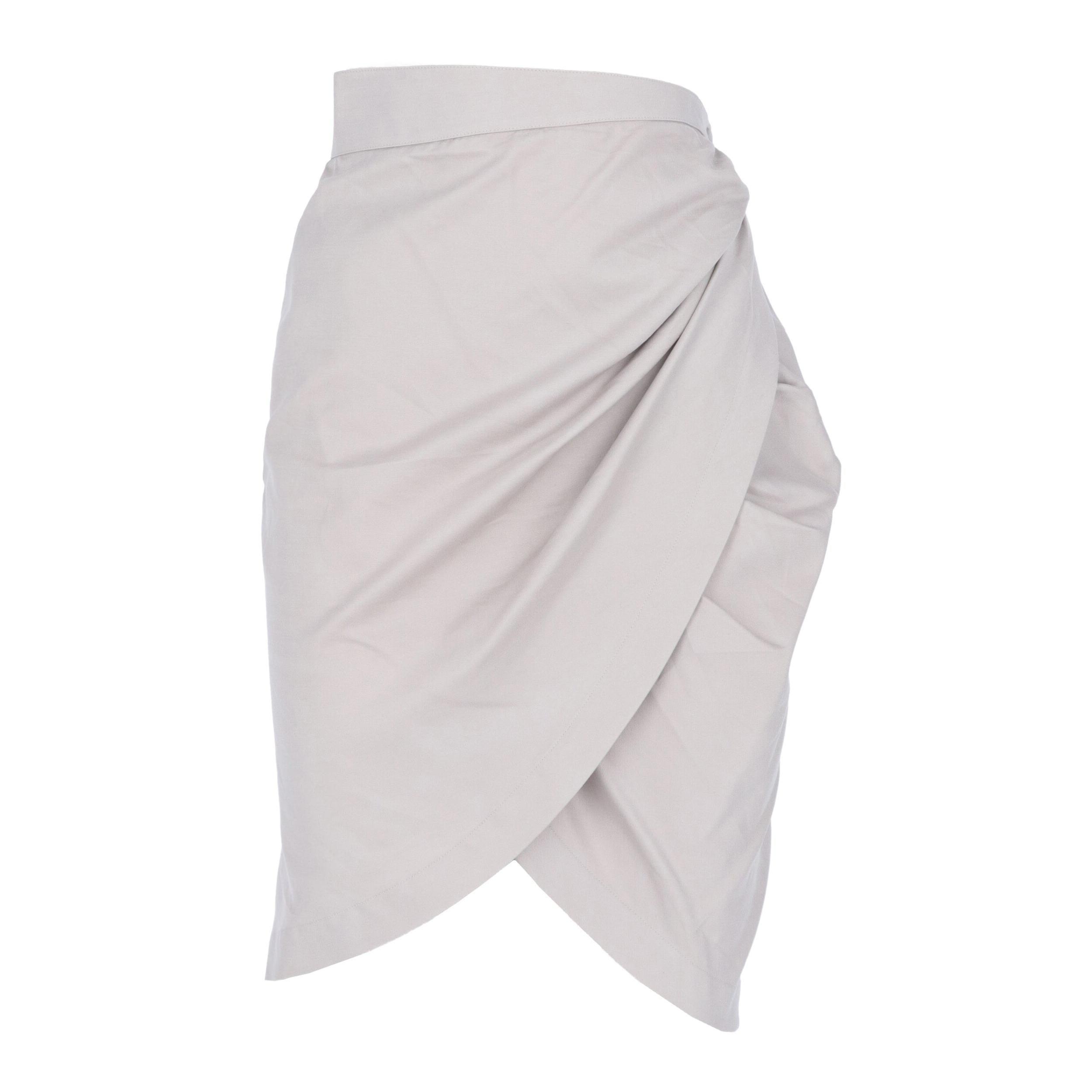 1980s Thierry Mugler Wrap Skirt