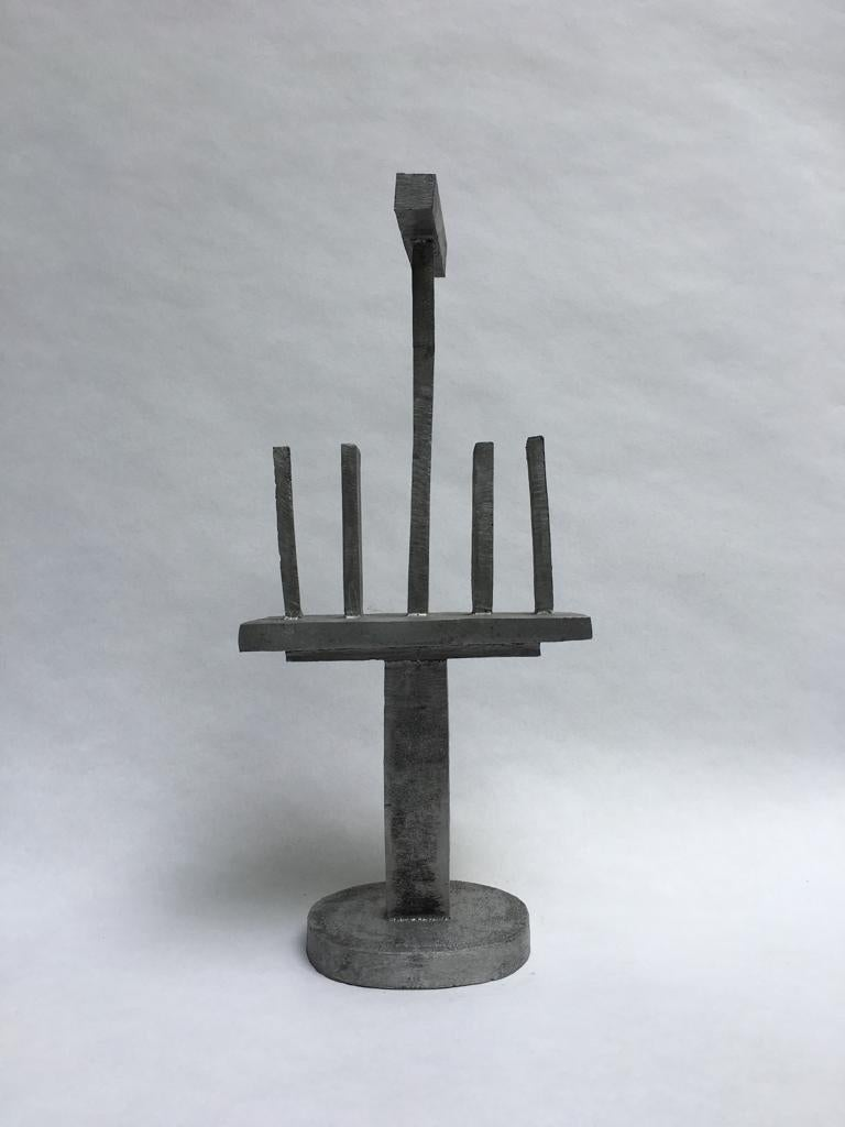 Tom Dixon abstract sculpture in aluminium,