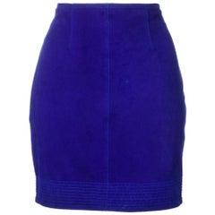 1980s Versus Straight Miniskirt