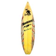 1980s Vintage Gotcha Team Rider Surfboard by Brian Bulkley