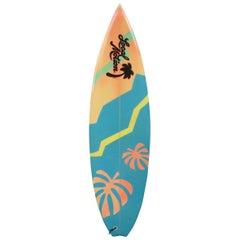 1980s Vintage Local Motion Surfboard by Robin Prodanovich