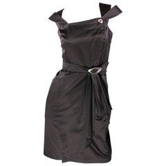 1980's Vintage Thierry Mugler - black dress