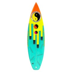 1980s Vintage Town & Country 'T&C' Surfboard by Louis Ferreira