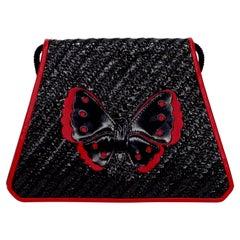 1980s Yves Saint Laurent Butterfly Bag