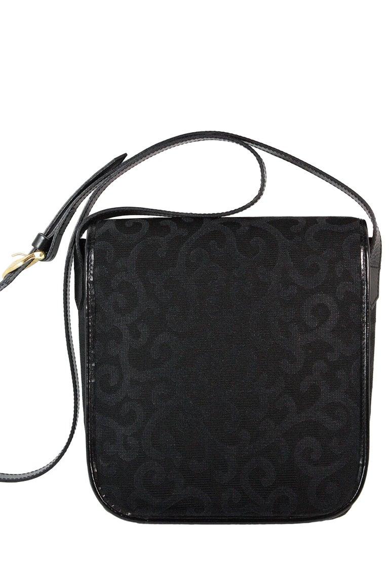 1980s Yves Saint Laurent Canvas Heart Handbag For Sale 2