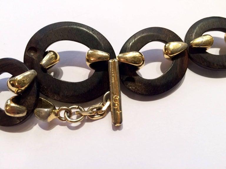 Women's 1980s Yves Saint Laurent Chain Bracelet For Sale