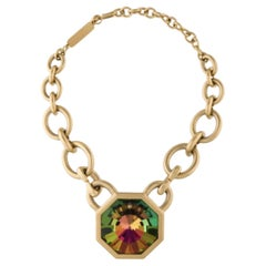 1980s Yves Saint Laurent Limited Edition Watermelon Crystal Choker- numbered
