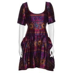 1980s Yves Saint Laurent Rive Gauche Embroidered Dress