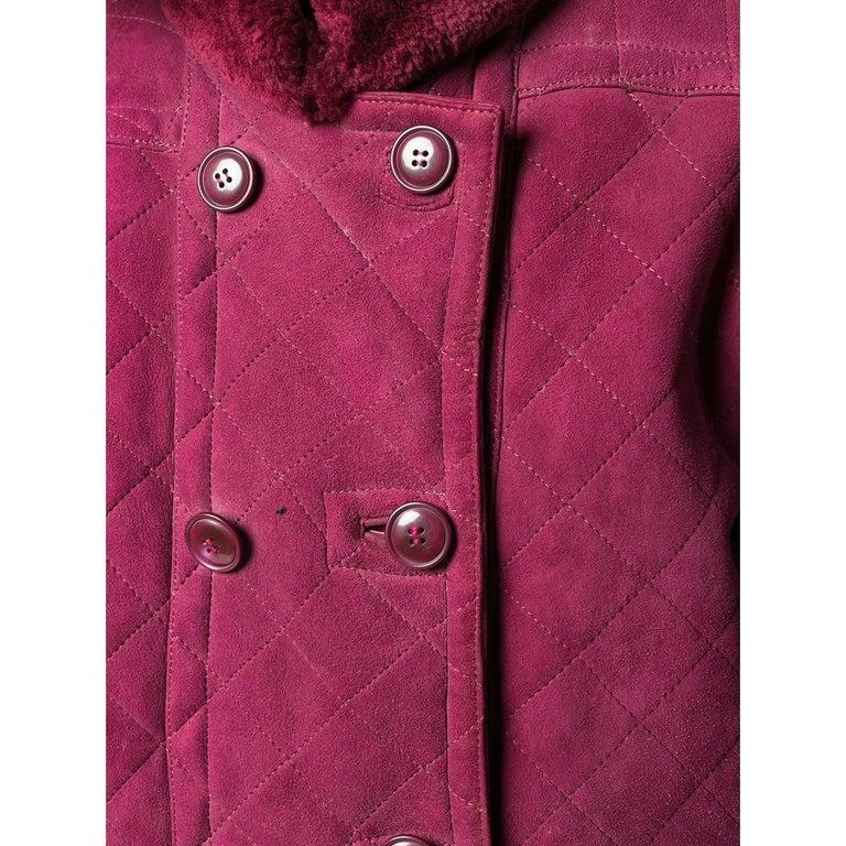 Women's 1980s Yves Saint Laurent Sheepskin Coat For Sale