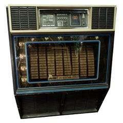 1982 Rowe Jukebox Model R86, 100 45 RPM Vinyl Records