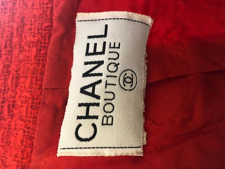 1983 Chanel Suit Karl Lagerfeld's First Collection for the House of Chanel For Sale 3